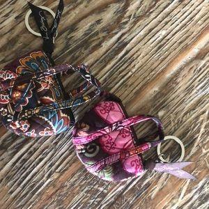 Vera Bradley Small keyring coin purses